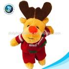 Lovely soft plush christmas mini toy