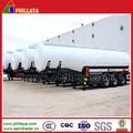 La gasolina y diesel del tanque de aceite del remolque para la venta, diesel de camiones de remolque