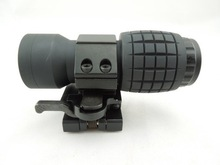 KV2-032 Tactical 3x Magnifier Red Dot Scope Fits Aimpoint Sight with QD mounts
