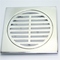 stainless steel 80*80 Floor Filler,floor drain ,drainage gutter with stainless steel grating cover