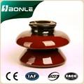 Aisladores de porcelana eléctrica, aisladores tipo pin, el aislador de cerámica