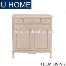U HOME home furniture living room frech style shoe cabinet antique shoe cabinet