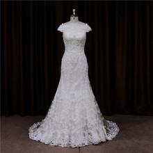 Chic opulent brush train ball gown sleeveless dresses for wedding