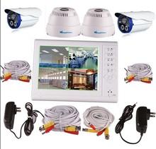 4CH H.264 CCTV Indoor/outdoor home/office Weatherproof CCTV DVR Camera Kit