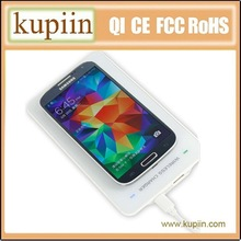 2014 second-generation lingyang solution qi standard for samsung galaxy s4 wireless charger