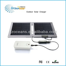 Folding solar panel 10W Guangzhou with good price foldable solar panel solar panelcharger OS-OP102B high efficiency outdoor sola