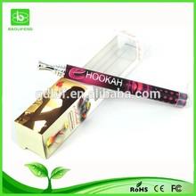 Beautiful design colorful e hookah electronic hookan pen cheap price