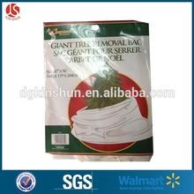 Walmart Xmas Decoration Gift Tree Removal Bag,47*96 inches Christmas Tree Garbage Bag