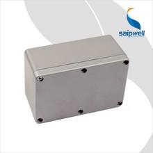 Standard Waterproof Box Die Cast 188*120*78mm waterproof Electrical aluminium outdoor case
