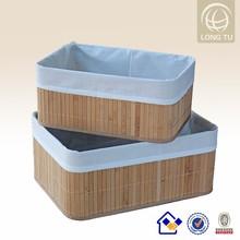 Home decor bamboo handicraft rattan basket wholesale