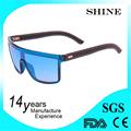 de moda de color azul led de dibujos animados de moda de gafas de sol