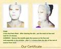 La marca de cuidado de la piel productos de aloe vera de la cara y el cuello para blanquear máscara de anti- envejecimiento calmante máscara hidratante máscara full face