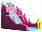 cheap dry slide inflatable/spongebob inflatable dry slide
