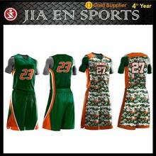 Sportswear reversible custom college basketball jerseys cheap,camouflage girls basketball uniforms