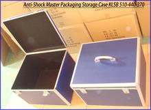 Foam Padding EVA Lining Aluminum Frame ABS Anti-Shock Master Packaging Storage Case for Precious Stones KLSB 510-440-370