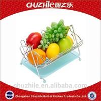 ChuZhiLe the little bear shape wire fruit basket AB-556