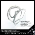 2015 guangzhou manufacturer ladies designer party/gift charming 925 silver diamond ring