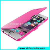 Slim Magnetic Folio Flip PU Leather Hard Back Case Cover Skin For Apple iPhone 5 5S 6 PLUS
