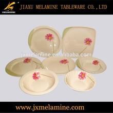 tea color melamine tableware for promotion