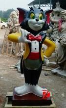 Tom cartoon cat fiberglass sculpture