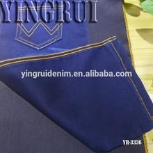 cotton polyester spandex satin jeans denim fabric