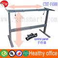 Mesa regulável em altura com motor elétrico& melhor produto de venda mesa de altura ajustável pernas com 3 etapa colunas de elevação