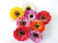 Baratos al por mayor de flores artificiales de la cabeza, flores de seda yzt1-1458