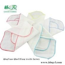 100%cotton muslin printing pocket square fashional handkerchief