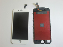 5pcs/lot Wholesale White LCD Digitizer For iPhone 6, LCD Display and Touch Screen Assembly with Tools DHL Free Shipping