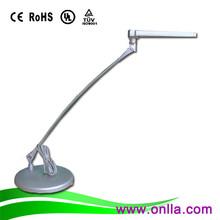 longevity eye protection brushed nickel table lamp