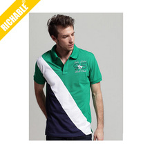 Men short sleeve muscle cheap us polo t shirts wholesale