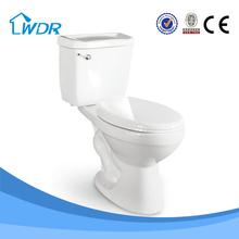 South American two-piece single flush toilet W8009 -2