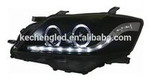 auto spare parts for toyota camry 2009/2012 v1/v2/v3 angel eye led head light lamp modified head light