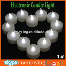 Hot Selling Tea Light LED Candle - Wedding Party LED Flameless Candle White