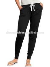 Hot sale style cheap women polar fleece pants yoga pants