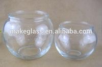 ball shaped glass fish bowl round glass fish tank glass goldfish bowl