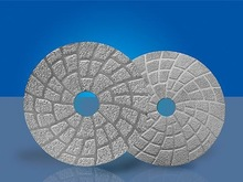 Vacuum Brazed Diamond Pads/Discs for wet polishing granite, marble and concrete