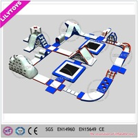 New desigen inflatable floating water park/inflatable water park games