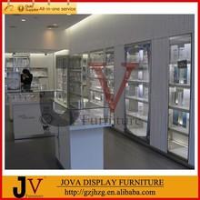 Customize wall display showcase for jewelry showroom