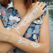 Body art Transfer Tattoo Henna Sticker Tattoo Stencils