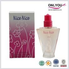 Eau de parfum type and floral scent nice lady perfume