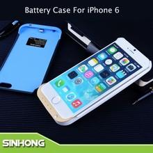 For iPhone 6 External Battery Case 3200mAh