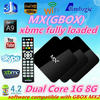 2014 Cortex A9 AMLogic MX XBMC pre-installed Google tv 1080P Android tv box support wireless keyboard