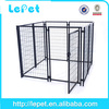 large outdoor welded panel pet cages dog kennel for travel