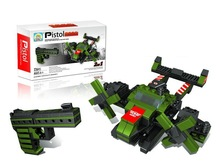 Education military series army plane block promotion toy