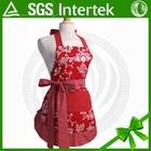 Customized Printed Wholesale Promotion Cotton Christmas Apron