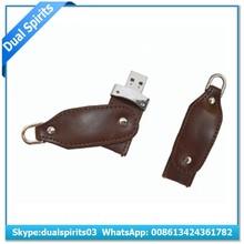 2G 4G 8G Leather Twist USB Flash Drive,Twist USB Stick Leather
