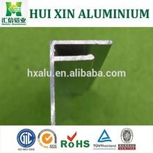 F shape aluminium profile for Guinea market