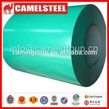 Camelsteel pré-pintado por imersão a quente do zinco cobrindo bobinas