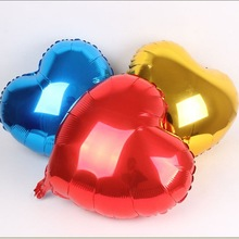 2015 Newest!!!!!!High Quality DIY Mylar Balloon Wholesale Colorful Balloons For Christmas Decoration Heart Metallic Balloons